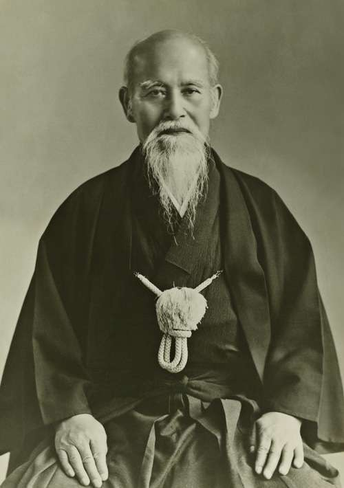 Aikido founder old picture