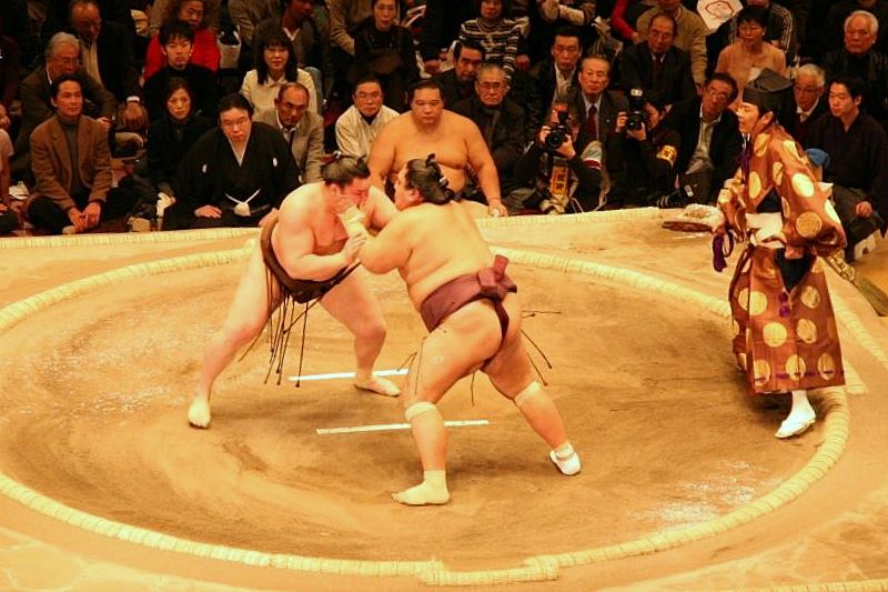 Sumo Match in Tokyo