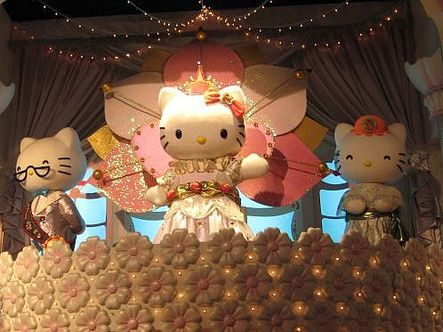 Hello Kitty at Sanrio Puroland