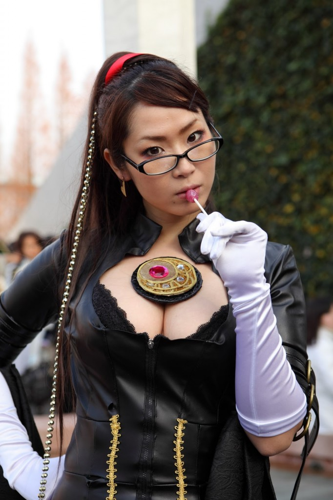 Very Sexy Cosplay Girl in Tokyo
