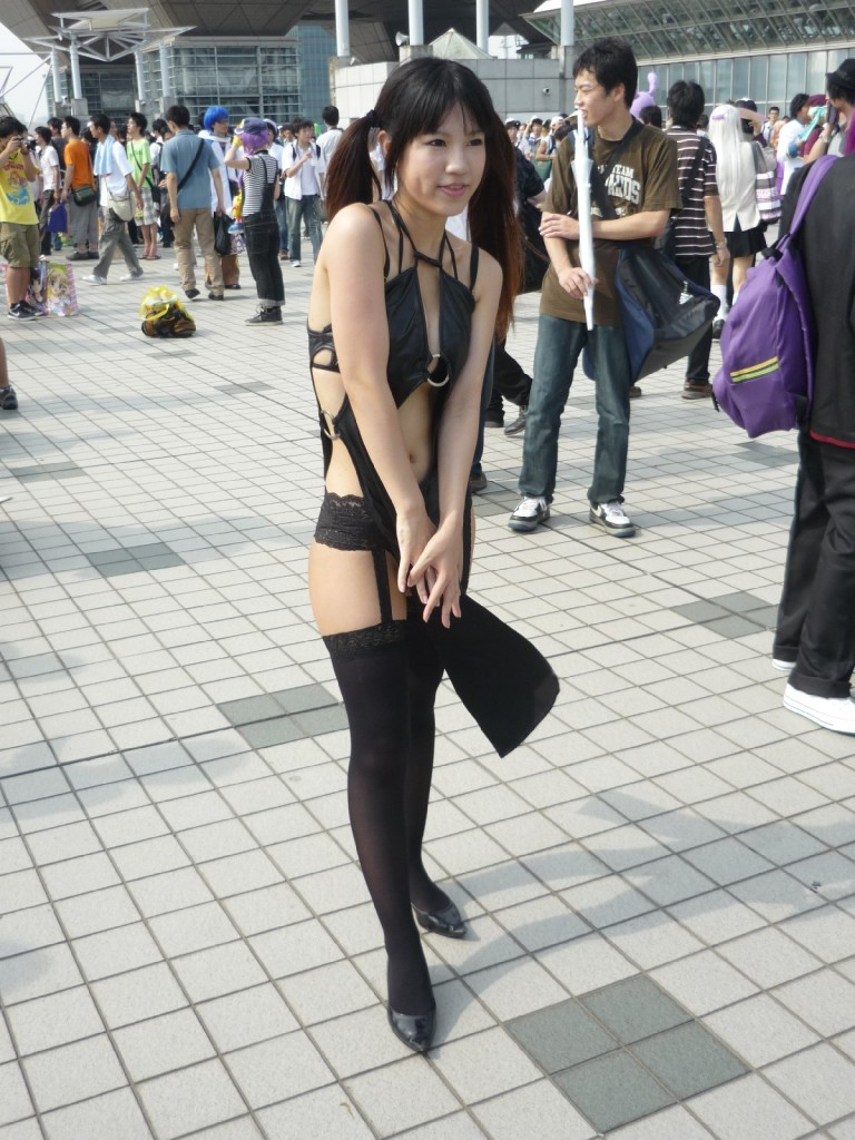 Sexy beautiful Cosplay Girl in Tokyo Comiket