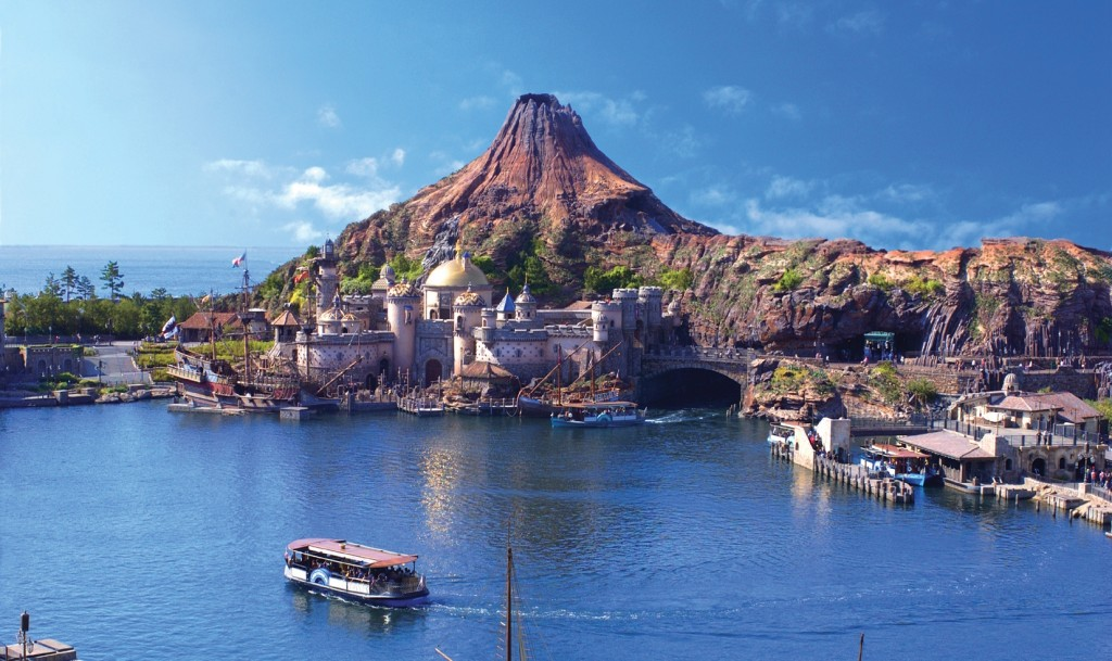 Tokyo Disney Sea view from sky