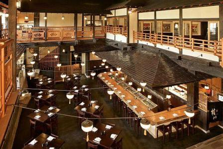 Gonpachi inside view